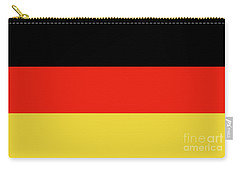 Carry-all Pouch featuring the digital art German Flag by Bruce Stanfield