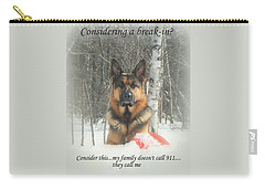 German Shepherd 911 Carry-all Pouch