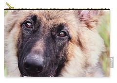 German Shepherd Dog Carry-all Pouch by Stephanie Frey