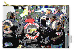 Germany Trial Hell Angels Motorcycle Club Carry-all Pouch