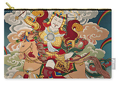 Gesar Gyalpo Carry-all Pouch by Sergey Noskov