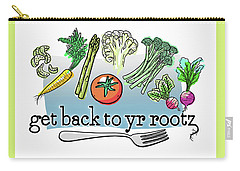 Get Back To Yr Rootz Carry-all Pouch