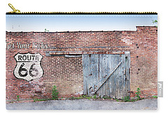 Carry-all Pouch featuring the digital art Get Your Kicks by Sandy MacGowan