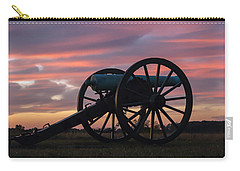 Gettysburg - Cannon On Cemetery Ridge At First Light Carry-all Pouch