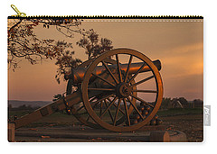 Gettysburg - Cannon With Cannon Balls At Sunrise Carry-all Pouch