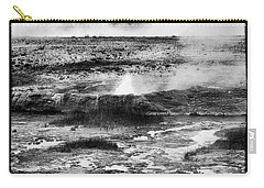 Carry-all Pouch featuring the photograph Geysers Of Yellowstone by Hugh Smith