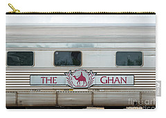 Ghan Train At Alice Springs Carry-all Pouch