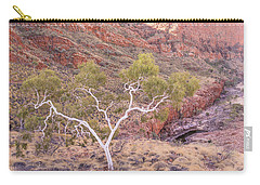 Ghost Gum Carry-all Pouch by Racheal  Christian