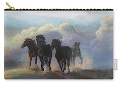 Ghost Horses Carry-all Pouch