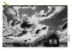 Carry-all Pouch featuring the photograph Ghost House by Jim and Emily Bush