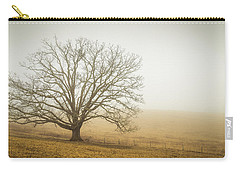 Tree In Fog - Blue Ridge Parkway Carry-all Pouch