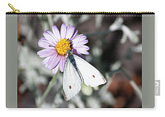 Ghost Moth In Pastel Carry-all Pouch