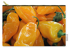 Ghost Peppers Carry-all Pouch by Kristin Elmquist