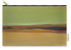 Carry-all Pouch featuring the painting Ghost Ranch by Michelle Abrams