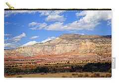 Carry-all Pouch featuring the photograph Ghost Ranch New Mexico by Kurt Van Wagner