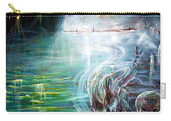 Ghost Ship 2 Carry-all Pouch by Heather Calderon