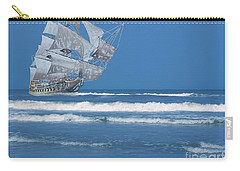 Ghost Ship On The Treasure Coast Carry-all Pouch
