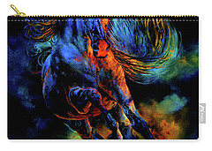 Carry-all Pouch featuring the painting Ghostly Encounter by Hanne Lore Koehler
