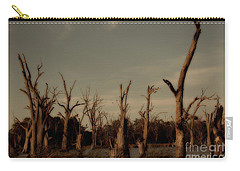 Carry-all Pouch featuring the photograph Ghostly Trees by Douglas Barnard