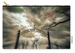 Ghostly Winter Cemetery Carry-all Pouch