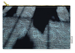 Carry-all Pouch featuring the photograph Ghosts Of Christmas Past by KG Thienemann