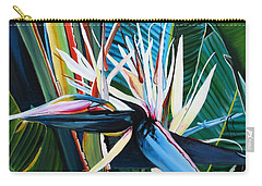 Giant Bird Of Paradise Carry-all Pouch