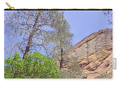 Carry-all Pouch featuring the photograph Giant Boulders by Art Block Collections