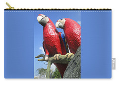 Giant Macaws Carry-all Pouch by Randall Weidner