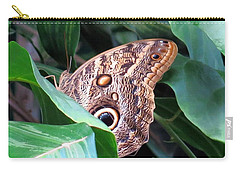 Giant Owl Butterfly Carry-all Pouch