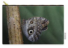 Giant Owl Butterfly On Screw Pine Carry-all Pouch