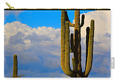 Giant Saguaro In The Southwest Desert  Carry-all Pouch