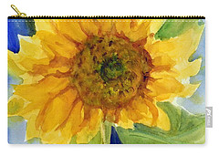 Giant Sunflower Carry-all Pouch