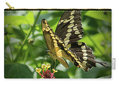 Giant Swallowtail On Lantana Carry-all Pouch