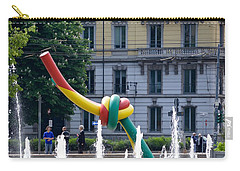 Giant Thread In Milan Carry-all Pouch