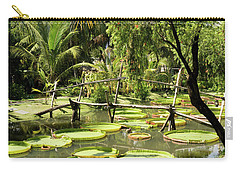 Giant Waterlily Paddies Vietnam Carry-all Pouch