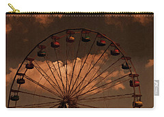 Carry-all Pouch featuring the photograph Giant Wheel by David Dehner