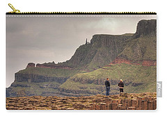 Carry-all Pouch featuring the photograph Giants Causeway by Ian Middleton