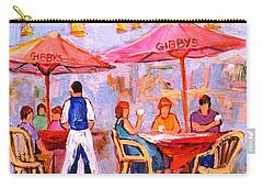 Gibbys Cafe Carry-all Pouch by Carole Spandau