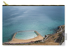 Gibraltar Rock View To The Beach Carry-all Pouch