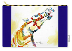 Giddy-up Carousel Horse Head Study Carry-all Pouch