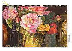 Carry-all Pouch featuring the painting Gift Of Time by Marlene Book