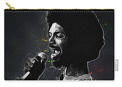 Gil Scott-heron Carry-all Pouch by Semih Yurdabak