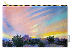 Gila Bend Sunset Carry-all Pouch