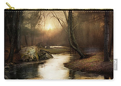 Gilded Woodland Carry-all Pouch by Robin-Lee Vieira