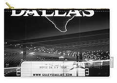 Gilley's Dallas V3bw Carry-all Pouch