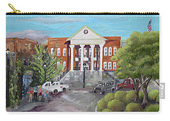Gilmer County Courthouse - Ellijay, Ga Carry-all Pouch by Jan Dappen
