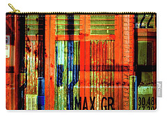Carry-all Pouch featuring the photograph Gimmie A Sign by Wayne Sherriff