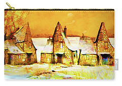 Gingerbread Cottages Carry-all Pouch