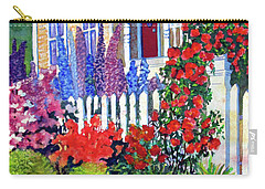 Gingerbread In Bloom Carry-all Pouch