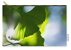 Gingko Leaves In The Sun Carry-all Pouch